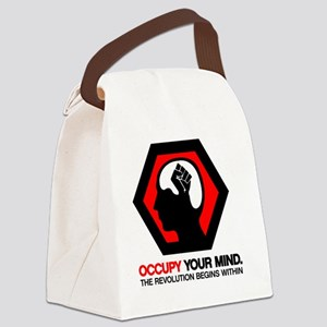 Anonymous 99% Occupy t-shirt Canvas Lunch Bag